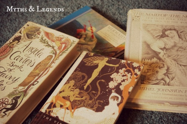myths and legends books